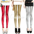 3 Colors Fashion Sexy Dot Leggings Shiny Skinny Milk Silk Leggings Pants Tights
