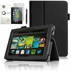 "GENUINE INVENTCASE LEATHER CASE COVER STAND FOR ALL-NEW KINDLE FIRE HD 7"" 2013"