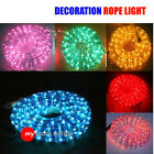 10m Christmas Rope Light Connectable to 40m Clear Blue White Purple Green Colour