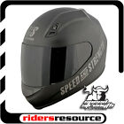 Speed & Strength SS700 Go For Broke Street Motorcycle Helmet Matte Black
