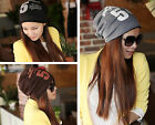 New Womens Mens Unisex Note Five Hip-hop Baggy Beanie Cotton Blend Hats Cap