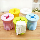 New Cute Screw Shaped Plastic Tissue Box Cover Holder Paper Pot Household Car