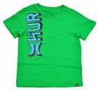 Hurley Infant Boys S/S Kelly Green & Blue Top Size 12M 18M 24M $14