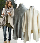 g67 Celebrity style Soft relaxed Asymmetrical long shawl collar sweater cardigan