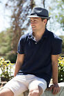 New Adult Fedora Trilby Hat Pinstripe with Black band One Size