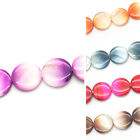 "1 Strand Shell Loose Beads Round 20mm( 6/8"") Dia.M1020"