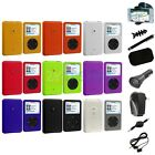 Color Hard Rubberized Case Cover+8X Accessory For iPod Classic 80 120 160 GB