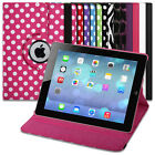 FOLDING WALLET FLIP STAND CASE COVER FOR YOUR TABLET - VARIOUS COLOURS DESIGNS