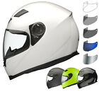 SHOX SNIPER FULL FACE MOTORBIKE MOTORCYCLE BIKE SCOOTER HELMET WITH TINTED VISOR