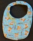 PRINCESS Print reversible Flannel / Terrycloth DOGGY DROOL BIB for Smaller Dogs
