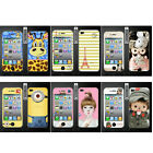 Wo Slim Front Back Clear Cartoon Screen Protector Film Cover For Iphone 4 4S (P)
