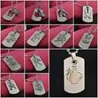 Fashion Stainless Steel Chains 12 Zodiac Signs Constellation Necklace Colorfast
