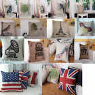 Fashion Home Decorative Cotton Hold Cushion Cover Pillow Case Waist Pillow Cover
