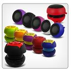 3.5mm CAPSULE SPEAKER FOR HTC DESIRE 500 PORTABLE MINI RECHARGEABLE