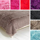 Cuddly Shaggy Soft Shimmer Faux Fur Glitter Throw Blanket Catherine Lansfield