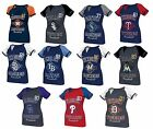 NEW MLB Majestic Ladies This Is My City Fashion Top Jersey Tank Shirt