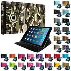360 Rotating Case Color Design Cover Pouch Holder for Apple iPad Air 5 5th Gen