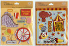 "U CHOOSE K&Company 4-1/4"" X 5""  CIRCUS   AMUSEMENT PARK  3D Stickers entertain"