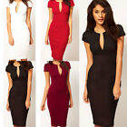 Sexy Trendy Womens Slim Evening Cocktail Party Dress Bodycon Short Mini Dress