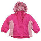 Faded Glory Toddler Girls Pink Riot 3 In 1 Outerwear Coat Size 3T 4T 5T