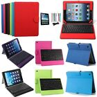 PU Leather Stand Case Cover with Bluetooth Keyboard For Apple iPad Air 5 5th Gen
