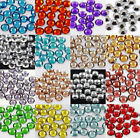 1000 x GLUE ON 4mm FLAT BACK RHINESTONE CRYSTAL SHOES BAGS GEMS NAILART GEMSTONE