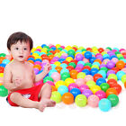 10/50/100pcs Plastic Colorful Ball Fun Ball Soft Ocean Ball Kid Toy Swim Pit Toy