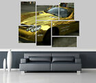 mercedes benz slr mclaren gold Car Self Adhesive Wall Picture Poster Not Canvas