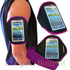 PURPLE Running Sport Armband GYM Case Cover for Samsung Galaxy Cell Phones 2013