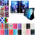 New Printed PU Leather Case Cover Fits For Apple Ipad 5 Ipad Air 2013 + Stylus