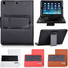 New Removable Bluetooth Keyboard PU Leather Case Cover For Apple iPad Air iPad 5