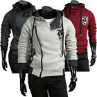 Casual New Vogue Designed Hoodie Men Boy Slim Fit Stylish Zip Up Coat Jacket PJ