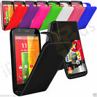 PU Leather Flip Mobile Phone Case Cover For Motorola Moto G