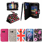 For Samsung Galaxy Young S6310 S6312 New Book Type Wallet Flip Case Cover+Stylus