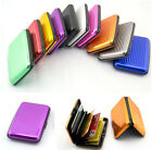 Candy Colors Aluminium Metal Business ID Credit Card Wallet Holder Pocket Case X