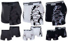 New Mens Skull Print Cotton Boxer Shorts Boxers Sexy Underwear Size S M L XL XXL