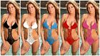 NEW SEXY ONE PIECE CROCHET MONOKINI SWIMSUIT HANDMADE IN USA ~ 5 COLORS #CRM02