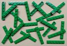 x25 NEW Lego Green Baseplates 1x6 Brick Building Plates