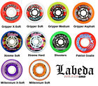 Labeda Inline Roller Hockey Skate Wheels - Pack Of 2 Wheels, Gripper, Shooters
