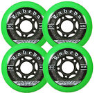 Labeda Shooter Inline Hockey Wheels 4 Pack - 68 / 72 / 76 / 80mm