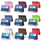 """PU Folio Leather Stand Case Cover for Samsung Galaxy Tab 3 10.1"""" P5200"""
