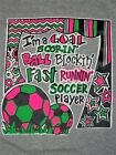 NEW Hot Gift Southern Chics Funny Ball Block Soccer Sweet Girlie Bright T Shirt
