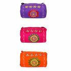LOG BARREL BAG Tibetan 'Wheel of Life' small shoulder handbag hippy purse