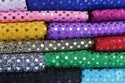 3mm SEQUIN FABRIC - ONE WAY STRETCH - 100% POLYESTER - WIDTH 110 CM