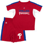 Toddler Philadelphia Phillies Shirt & Shorts Set Baseball Short Stop 2-Piece