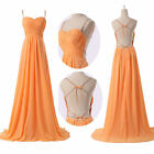 Charm Backless Chiffon Stunning GK 2014 Sexy Lady Wed Evening Prom Party Dress