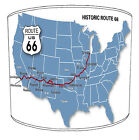 American Route 66 Road Map Table Lamp shades Or Ceiling Light shades Pendants