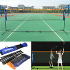 Mini Badminton Net, Tennis Nets, Volleyball Net With Frame Stand Foldable