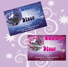 10 x Personalised Birthday Invitations  Thank You Cards Boys Girls Disco Dancing