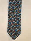 Jerry Garcia Neck Tie Collection 59 RITUAL MOON Blue Gray Brown Necktie New Art